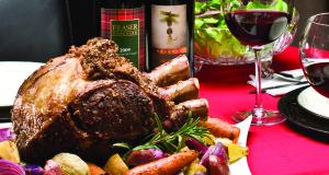Herbed Beef Rib Roast