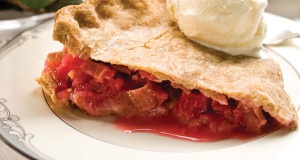 Idaho Strawberry Rhubarb Pie
