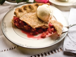 Idaho Strawberry Rhubarb Pie