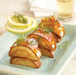 Idaho Caviar Tacos