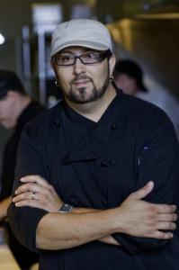 Chef Dustan Bristol.