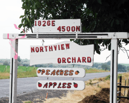 Northview Orchard Sign