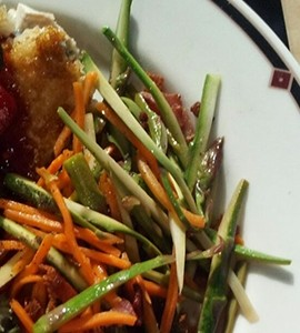 Asparagus Slaw Side Dish