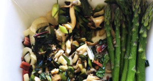 Asparagus w Mushrooms