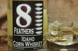 8 Feathers Distillery - Idaho Corn Whiskey